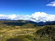 Camino de Transalpina, Rumania Imagen de archivo libre de regalías