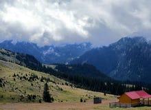 Camino de Transalpina, Rumania Fotografía de archivo libre de regalías