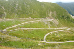 Camino de Transfagarasan Fotografía de archivo libre de regalías