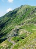 Camino de Transfagarasan, montañas de Fagaras, Rumania Foto de archivo