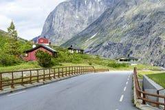 Camino de Trollstigen Foto de archivo libre de regalías