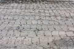 Camino de Underconstruction Foto de archivo