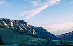Camino del Bighorn Imagenes de archivo