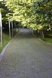 Camino del césped Fotos de archivo