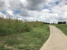 Camino del campo de golf de la cala del chacal fotos de archivo