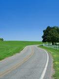 Camino del campo de Mississippi Foto de archivo libre de regalías