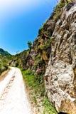 Camino del campo en un parque en Italia Fotografía de archivo