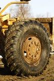 Camino del cargador de la rueda Fotos de archivo