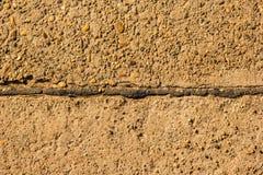 Camino del cemento Fotos de archivo libres de regalías