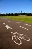 Camino del ciclo Fotografía de archivo