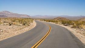 Camino del desierto Fotos de archivo