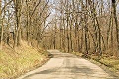 Camino del enrollamiento Imagen de archivo