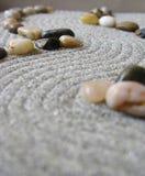 Camino del jardín del zen Foto de archivo