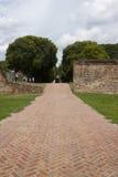 Camino del ladrillo Foto de archivo libre de regalías