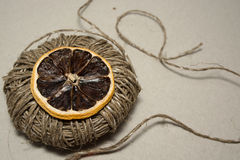 Camino del limón Imagen de archivo libre de regalías