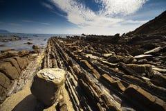 Camino del mar Imagenes de archivo