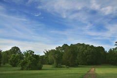 Camino del país Foto de archivo libre de regalías