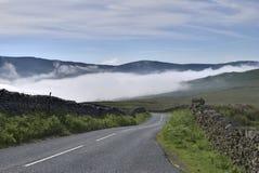 Camino del paso de Kirkstone Imagenes de archivo
