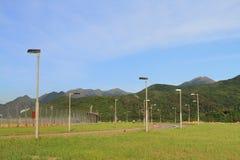 Camino del perímetro de S, Chek Lap Kok fotos de archivo libres de regalías