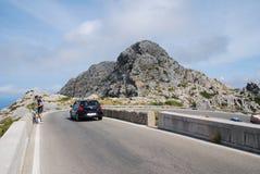 Camino del Sa Calobra, Majorca Fotografía de archivo