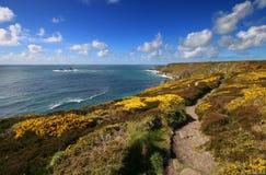 Camino del sur de la costa oeste Imagen de archivo libre de regalías