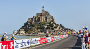 Camino del Tour de France del Le Fotografía de archivo