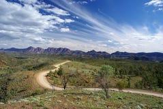 Camino del valle de Bunyeroo Imagen de archivo