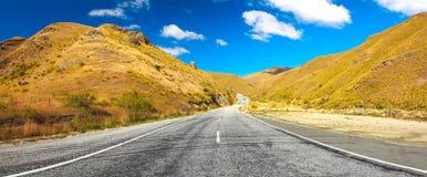 Camino del valle de Cardrona imagen de archivo libre de regalías