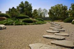 Camino del zen Foto de archivo