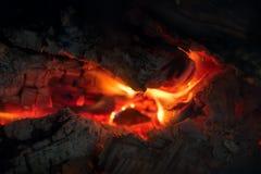 Camino della fiamma del fuoco Fotografie Stock