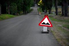 Camino desigual Foto de archivo