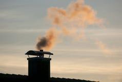 Camino di fumo 2 Fotografia Stock Libera da Diritti