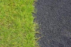 Camino e hierba Foto de archivo libre de regalías
