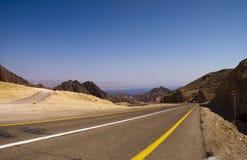 Camino a Eilat Fotografía de archivo libre de regalías