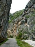 Camino en barranca de la montaña Imagen de archivo libre de regalías