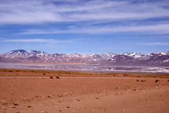Camino en Bolivia Fotografía de archivo libre de regalías