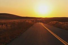 Camino en California Foto de archivo