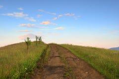 Camino en campo Fotografía de archivo