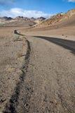 Camino en Death Valley Fotografía de archivo