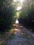 Camino en desconocido Fotografía de archivo