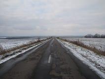 Camino en el desconocido Imagen de archivo