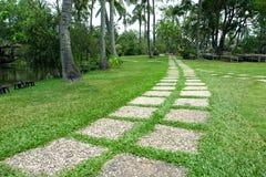 Camino en el jardín Imagen de archivo libre de regalías