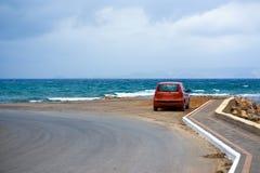Camino en el mar Fotos de archivo libres de regalías