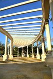 Camino en el parque de huelin fotografía de archivo libre de regalías