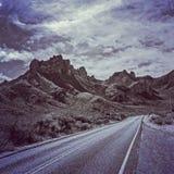 Camino en el parque nacional de la curva grande Fotografía de archivo libre de regalías