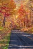 Camino en el Ridge Imágenes de archivo libres de regalías