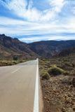 Camino en el valle Foto de archivo