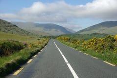 Camino en Irlanda Imagen de archivo libre de regalías