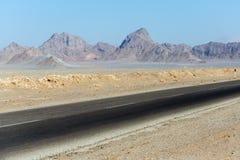 Camino en Irán Fotografía de archivo libre de regalías