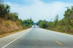 Camino en la más forrest Foto de archivo